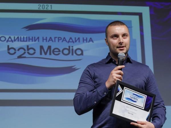 СофтУни грабна 2 престижни приза в годишните награди на B2B