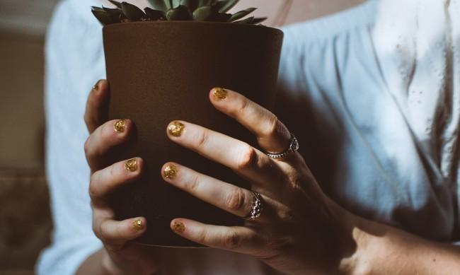 Хит: Нокти в златисто и черно