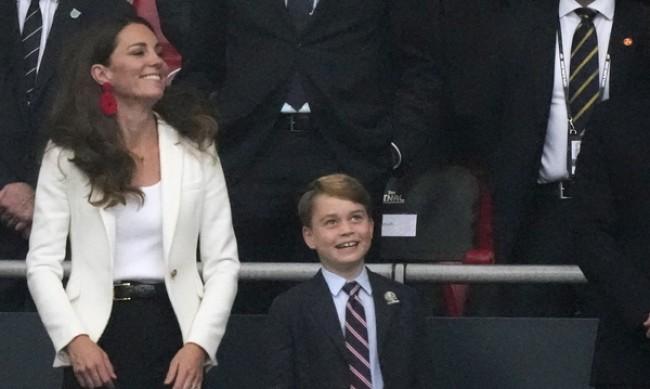Принц Джордж стана на 8 години