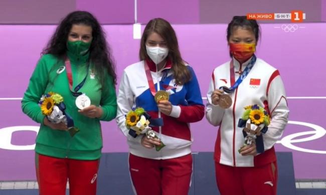Антоанета Костадинова със сребро на Олимпиадата в Токио!