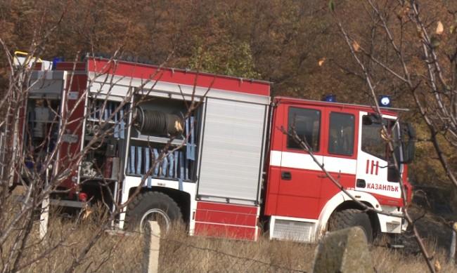 Зачестяват пожарите в равнинната част на Ямболско