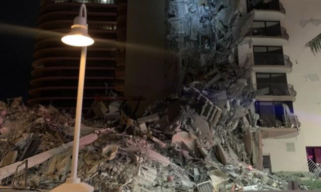 Жертвите на рухналия блок в предградие на Маями достигна 98
