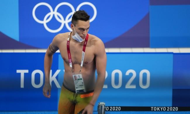 Калоян Левтеров не успя да се класира на 1/2-финалите на 200 м гръб