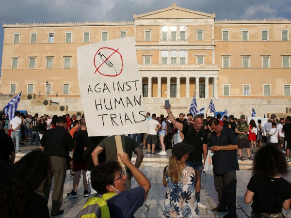 В Гърция се проведоха поредните митинги на противниците на принудителната