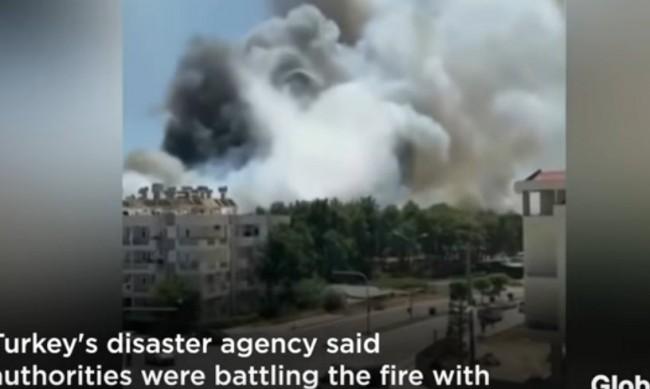 Големият горски пожар в Анталия взе жертви