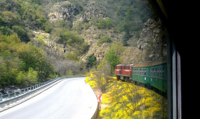 Специален влак отбелязва годишнина от първия влак по теснолинейката