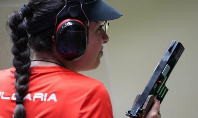 Антоанета Костадинова остана на крачка от нов медал