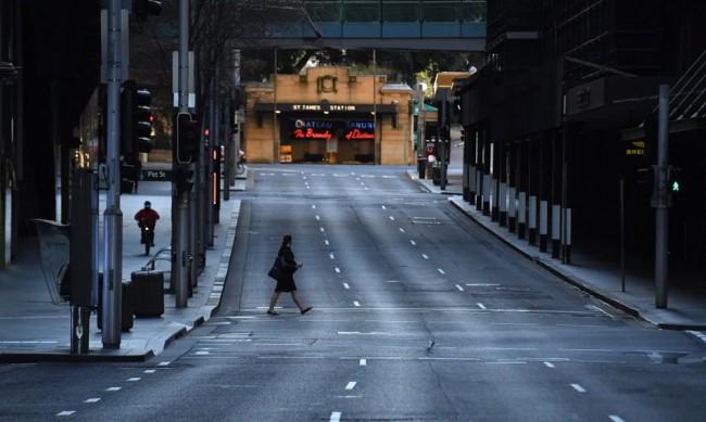 В Сидни военни контролират спазването на COVID мерките