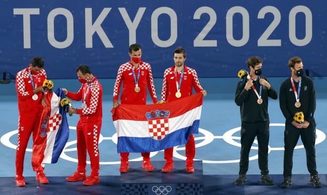Мектич и Павич победиха в хърватския финал на двойки в тениса