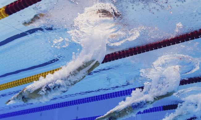 Кристиян Голомеев във финала на 50 м свободен стил в Токио