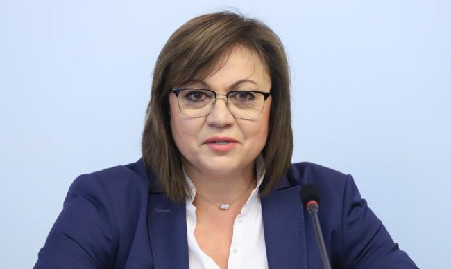 Корнелия Нинова: Без БСП няма да има стабилно правителство