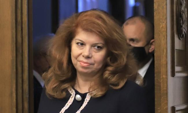 Йотова: Гледам с надежда на кандидатурата на Пламен Николов