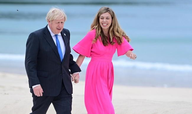 Съпругата на Борис Джонсън бременна с второто им дете