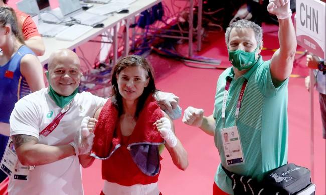 Стойка Кръстева си осигури медал от Токио
