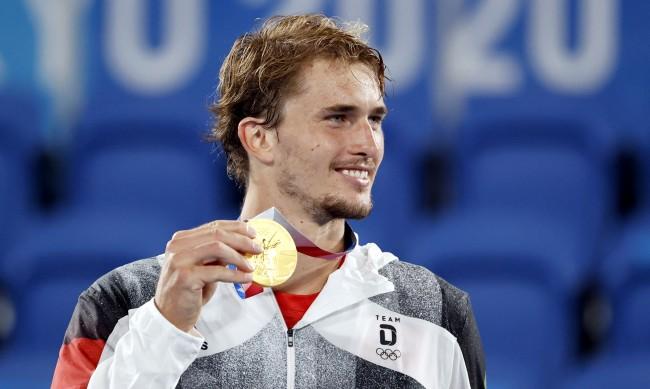 Александър Зверев е олимпийски шампион в тениса