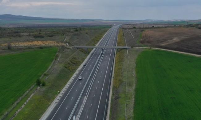 """Нова катастрофа на АМ """"Тракия"""", трафикът е ограничен"""