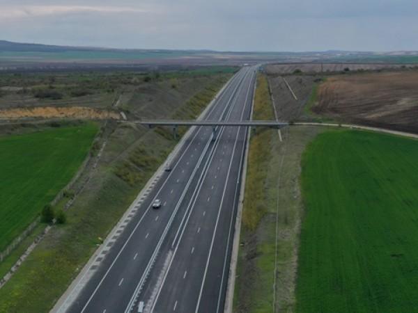 """Нова катастрофа на АМ """"Тракия"""" в посока Бургас ограничи движението."""