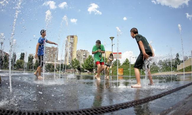 Юли е бил третият най-топъл месец в историята