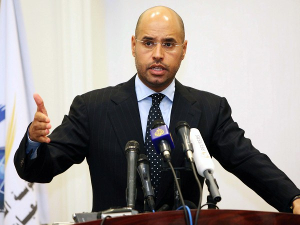 Сейф ал Ислам Кадафи, син на либийския диктатор Муамар Кадафи,