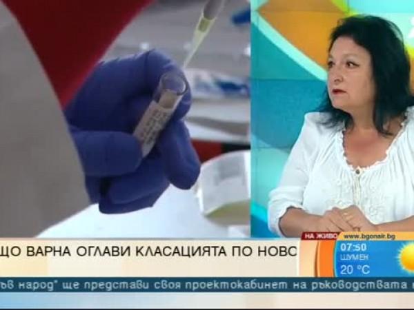 """""""Виждаме надигането на гребена, виждаме почти 400 заразени през вчерашния"""