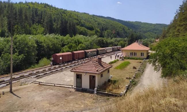 Специален туристически влак по теснолинейката на 7 август