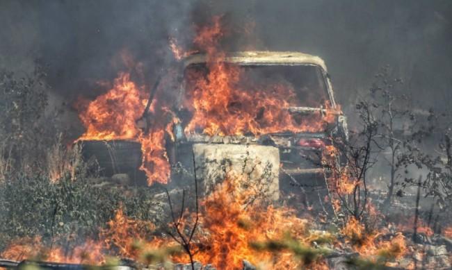 Огнеборците гасят 9 активни пожара в страната
