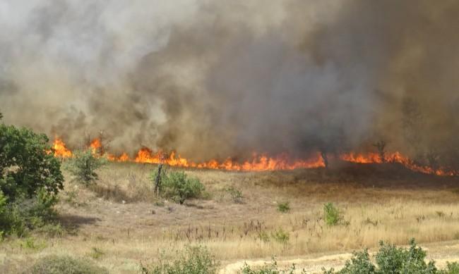 Двама горски са загинали в огъня край Сандански