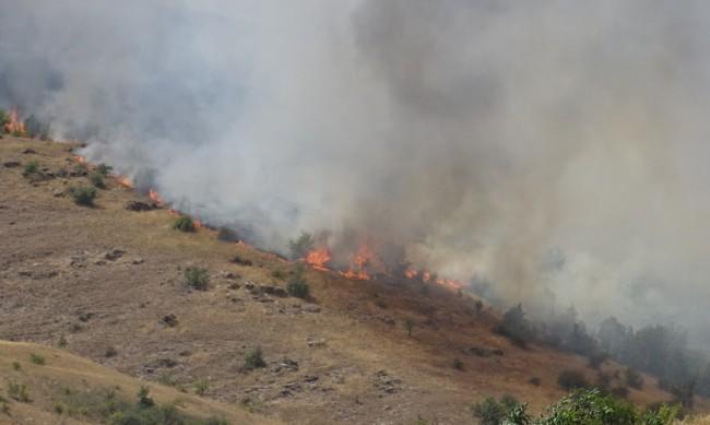 Пожарът в РС Македония на 2 км, евакуират Симитли?