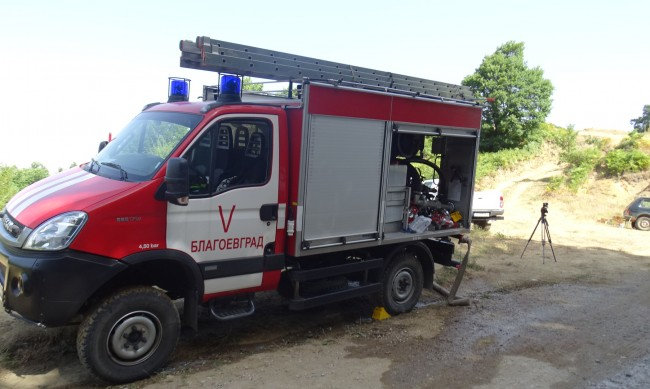 Заради пожара: Село Голешово се готви за евакуация