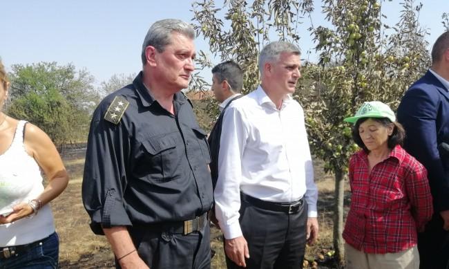 Стефан Янев посети Старосел: Държавата трябва да е при хората