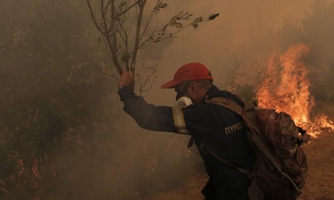 Гръцкият премиер се извини за слабостите в битката с пожарите