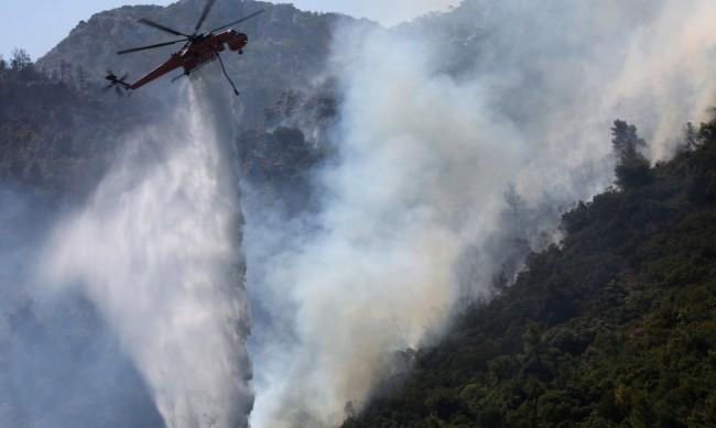 До €150 000 помощ за семейство заради пожарите в Гърция