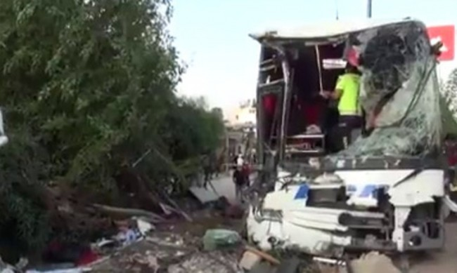 Над 30 пострадали в автобусна катастрофа в Турция
