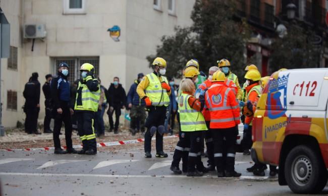 3-етажна сграда се срути в Испания