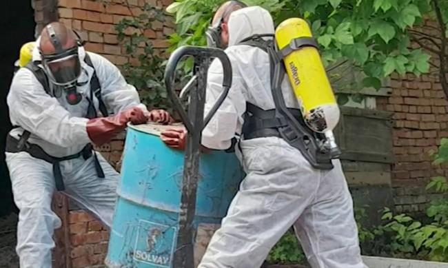 Опасна находка: Откриха бидон с хлороформ на оживено място