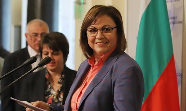 Нинова няма да връща мандата на Радев, докато не се актуализира бюджетът