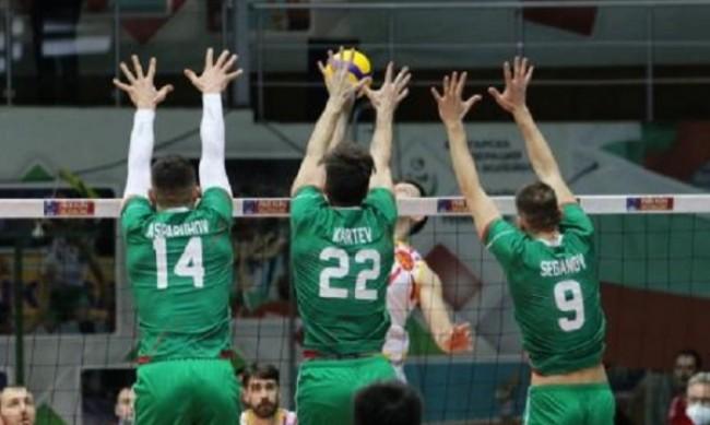 България надви Беларус за 1/8-финал на Евроволей 2021