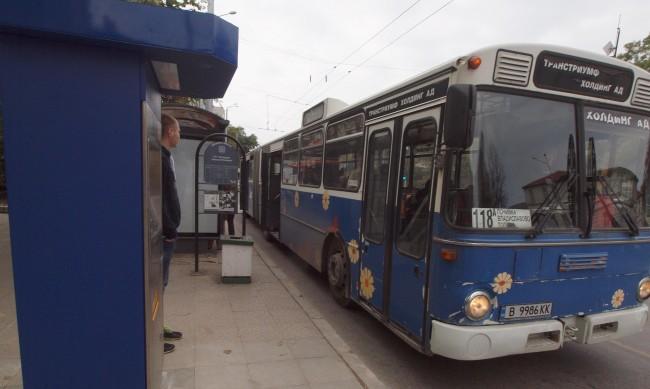 Градският транспорт във Варна разреден заради болни шофьори