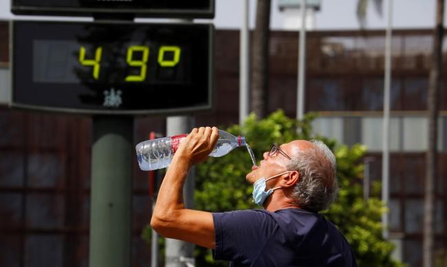 Горещите дни с температури до 50 градуса са се удвоили