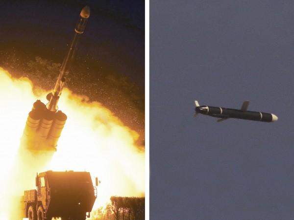 Преди няколко дни Северна Корея тества крилати ракети с голям