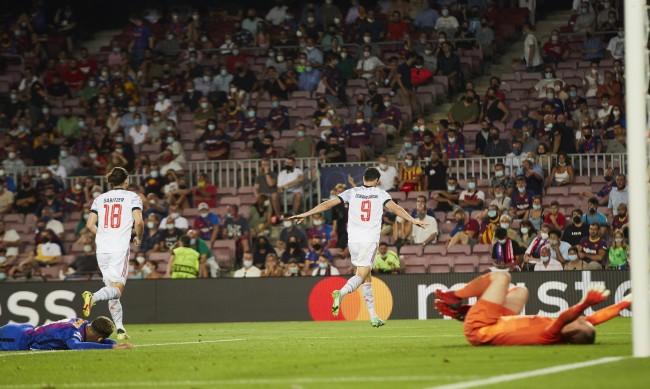 Байерн отнесе Барселона с 3:0 като гост на старта на ШЛ
