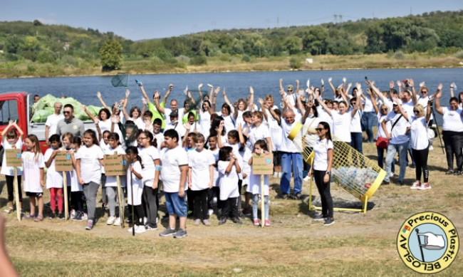 Кампания за почистване на Варненско-Белославското езеро се проведе на 16 септември