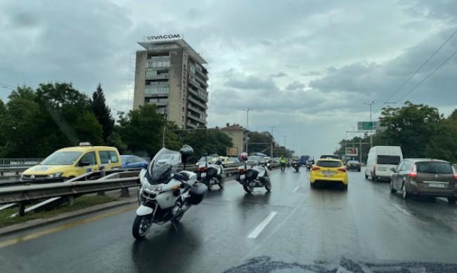 """Катастрофа на """"Цариградско шосе"""", има един ранен"""