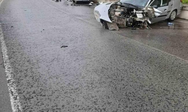 Четирима пострадаха след удар на пътя Гоце Делчев – Банско
