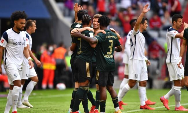 Свиреп Байерн Мюнхен отнесе Бохум със 7:0