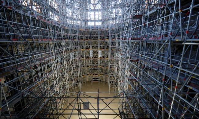 Завърши укрепването на катедралатата Нотр Дам