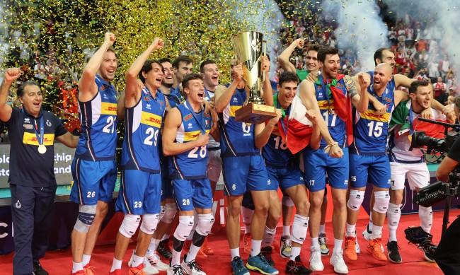 Италия грабна титлата и на европейското по волейбол
