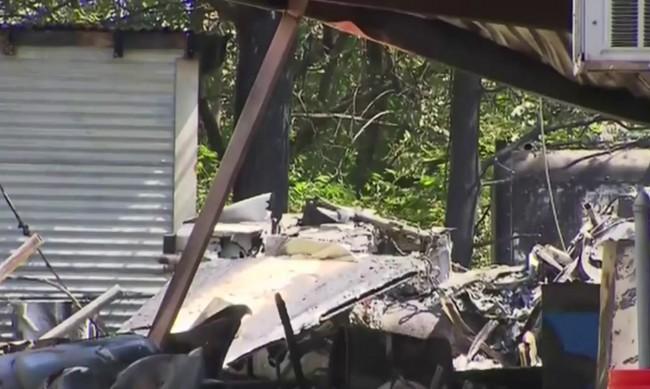 Самолет се разби в Тексас, по чудо няма жертви