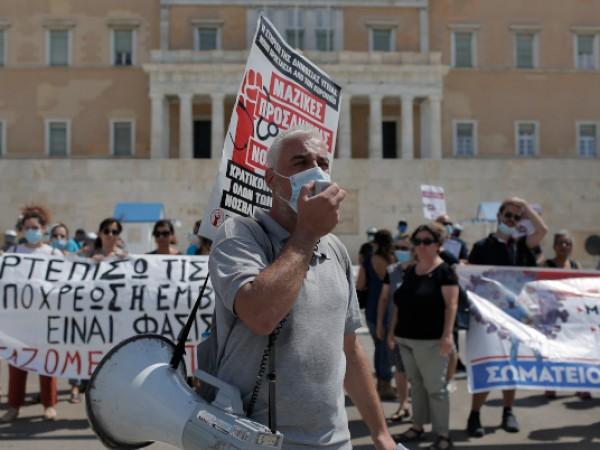 Здравните работници в държавните болници в Гърция планират днес да