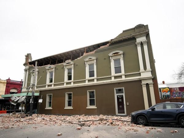 Най-малко 46 сгради в Австралия са претърпели различни щети след